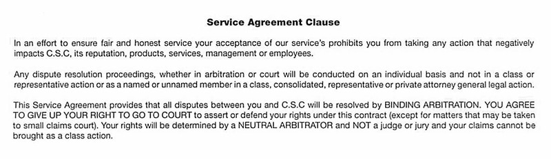 corporate-compliance-scam-service-agreement